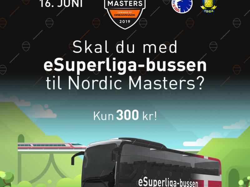Kom med eSuperliga-bussen til Nordic Masters i Jönköping